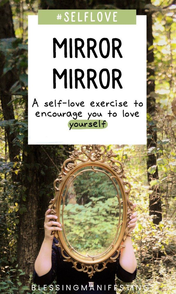 self-love exercise