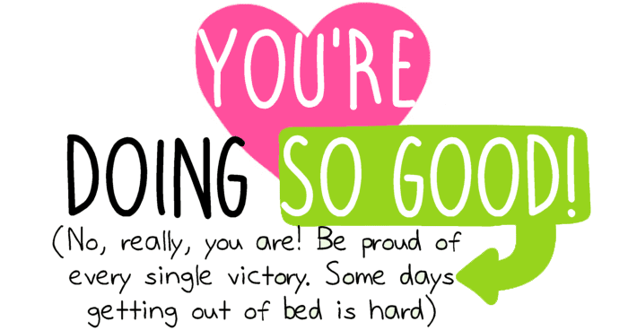 You're Doing So Good! How Positive Self-Talk Helps.