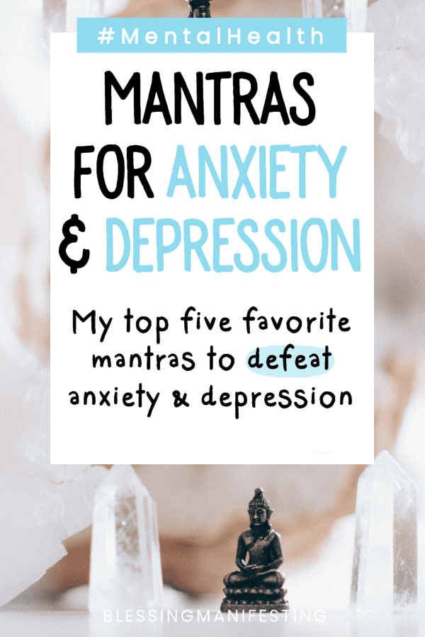 mantras for anxiety and depression