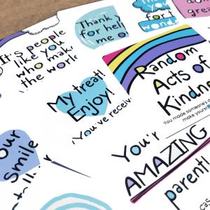 random acts of kindness cards