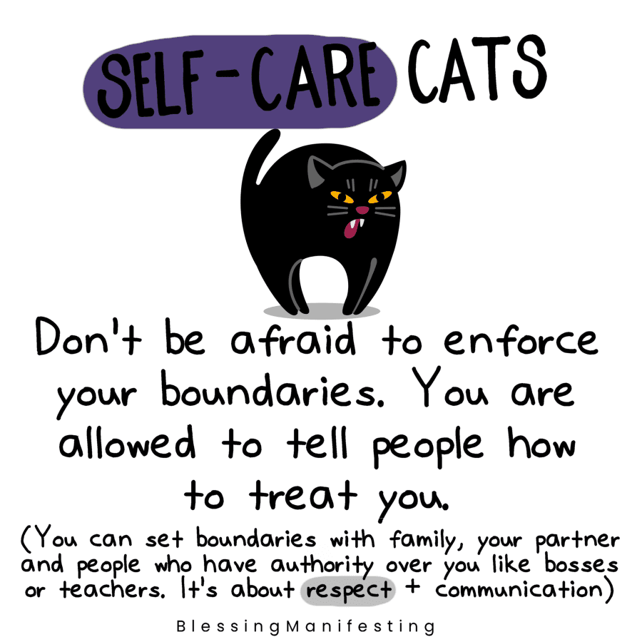 self-care cats
