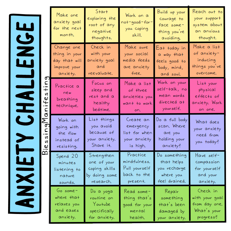 anxiety challenge