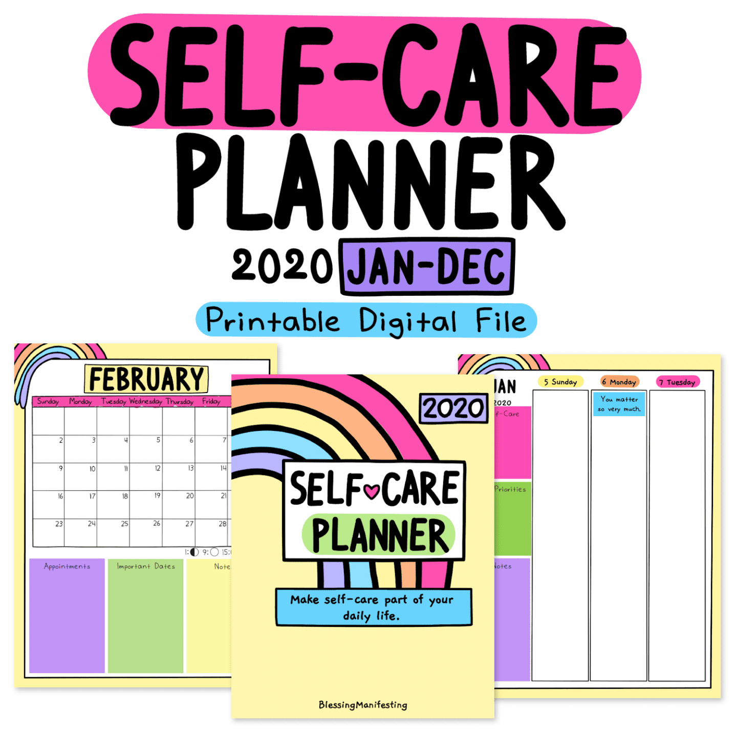 The 2020 Self-Love Planner is here!