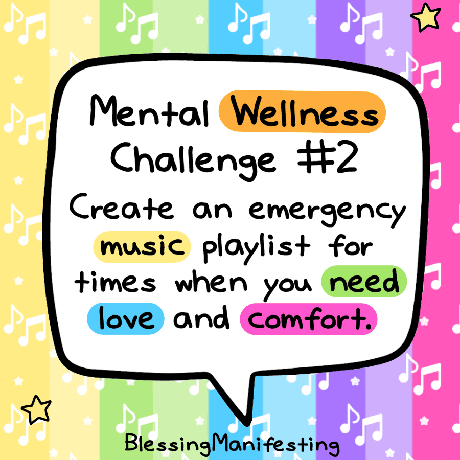 Mental Health Challenge Day Two